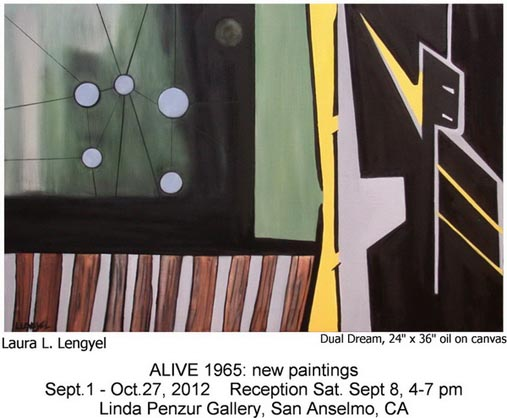 Laura Lenyel Artist New Paintings Exhibit 2012