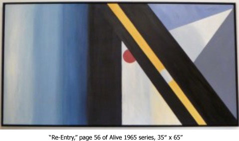 Re-Entry, Alive 1965 series, Laura Lengyel